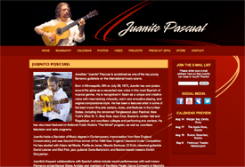 Juanito Pascual website